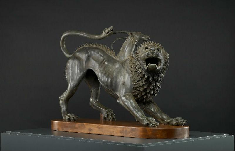 Chimera di Arezzo _ Museo Archeologico Nazionale di Firenze