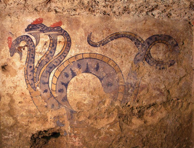 Tomba della Quadriga Infernale _ Museo Civico di Sarteano